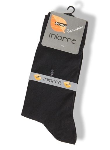 Miorre Desenli Modal Erkek Çorap Antrasit